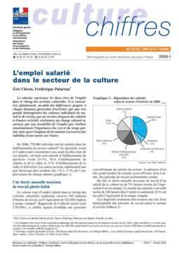 L'emploi salarié dans la culture 2007