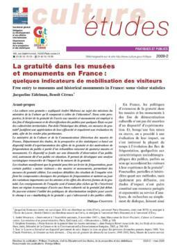 La gratuité dans les musées et monuments en France : quelques indicateurs de mobilisation des visiteurs