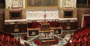 Hémicycle de l'Assemblée  nationale © Coucouoeuf