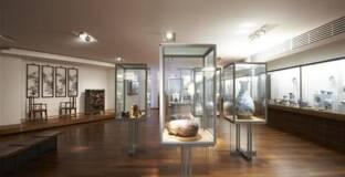 Paris, musée Guimet, Vue des salles chinoises, Photo (C) MNAAG, Paris, Dist. RMN-Grand Palais / image musée Guimet