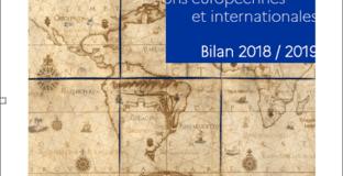 Patrimoines - Actions européennes et internationales - Bilan 2018 / 2019