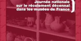 Affiche de la Journée nationale sur le récolement décennal dans les musées de France, Paris, 12 décembre 2013