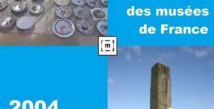 Affiche de Journée nationale sur le premier récolement décennal dans les musées de France, Bilan 2004-2014, Paris, 10 octobre 2014
