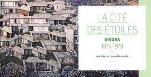 couverture de la monographie sur la cité des Étoiles à Givors conçue par Jean Renaudie