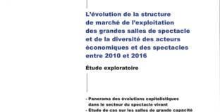 Couverture Evolution structure de marché