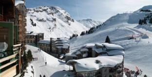 Avoriaz, Morzine (Haute-Savoie), quartier des Hauts-Forts