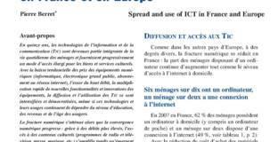 Diffusion et utilisations des TIC en France et en Europe