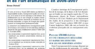 L'enseignement spécialisé de la musique, de la danse et de l'art dramatique en 2006-2007