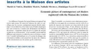 Portrait économique des diffuseurs d'art actuel inscrits à la Maison des artistes