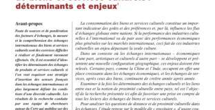 Les flux d'échanges internationaux de biens et services culturels : déterminants et enjeux