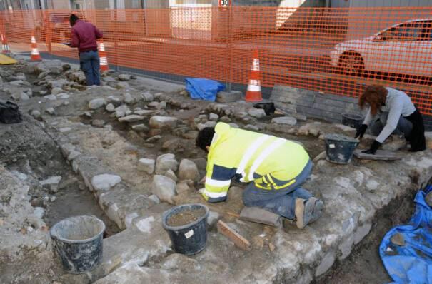 Fouilles archéologiques au Theil