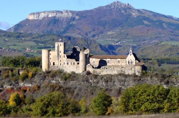 Tallard - Château © Stap des Hautes-Alpes, Philippe Grandvoinnet