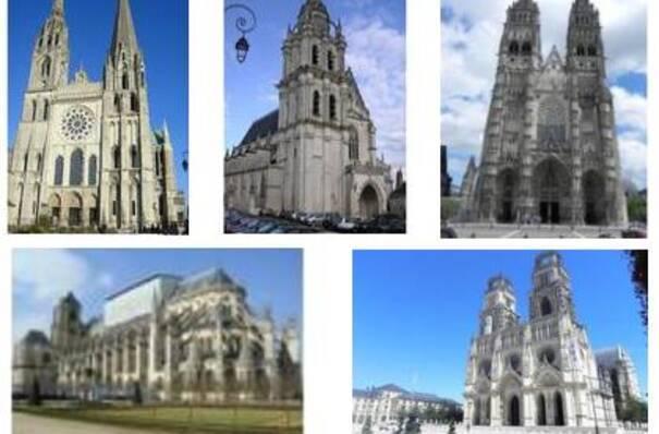 visuel des cathédrales en région