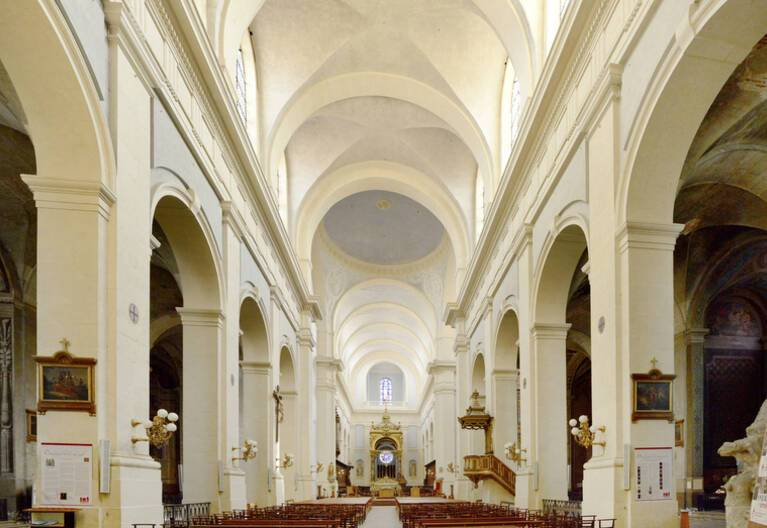 Nef de la cathédrale de Montauban