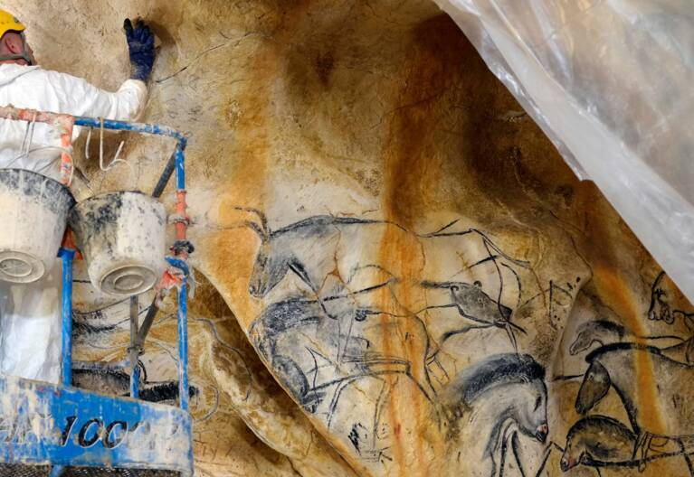 Ouvrier Grotte Chauvet