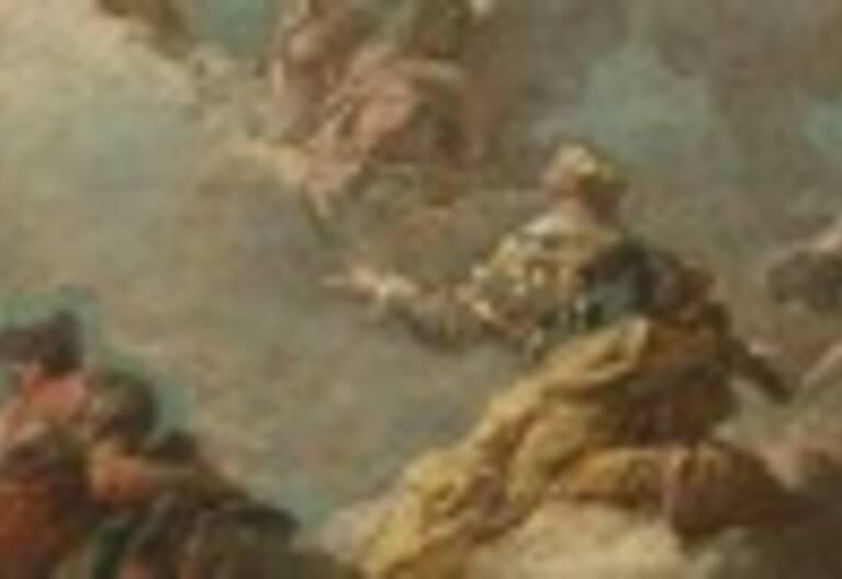Gaspare Diziani: allégorie de Venise