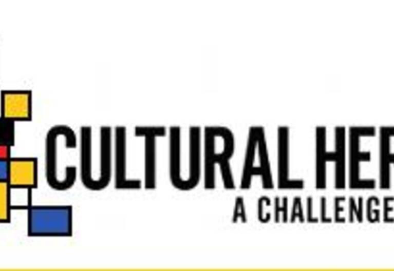Logo de l'initiative de programmation conjointe Patrimoine culturel et changement global : un nouveau défi pour l'Europe (JPICH)