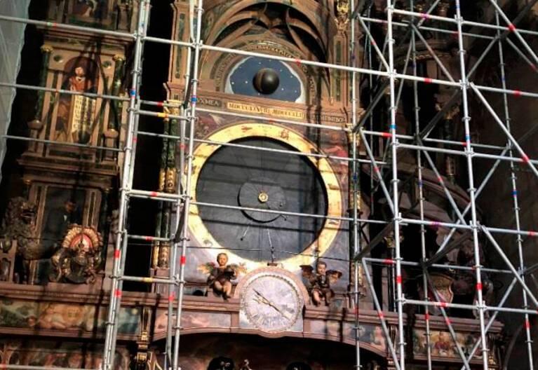 Cathédrale de Strasbourg - Horloge astronomique
