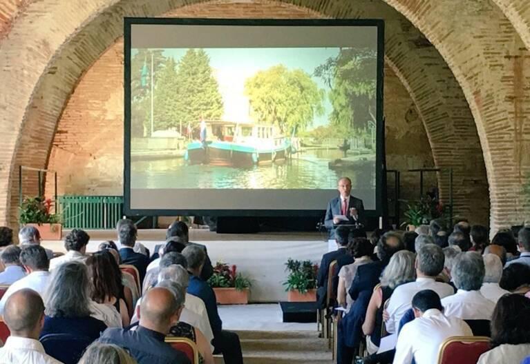 Premier comité du bien Canal du Midi à Bonrepos-Riquet