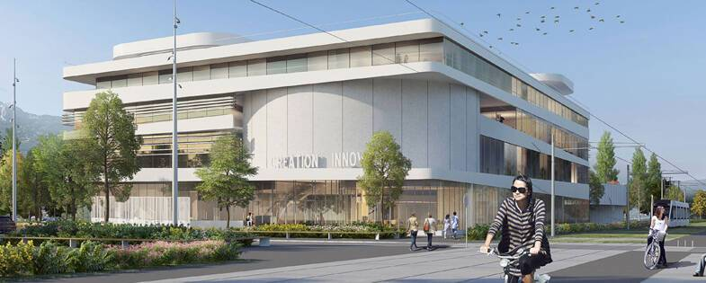 Projet Maison de la création et de l'innovation Grenoble