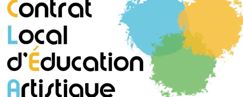 Logo Contrat local d'éducation artistique