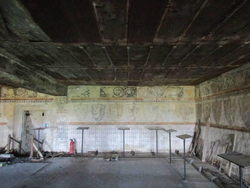 63-château de Ravel salle des Etats avant travaux