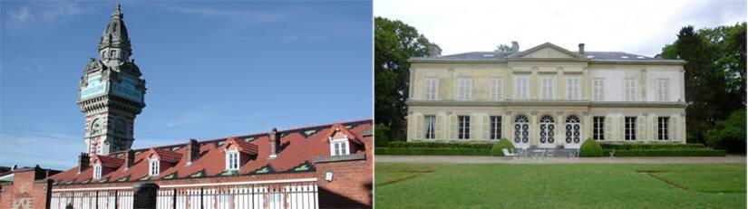 Epernay (Marne), Tour Castellane / Saint-Brice-Courcelles, château