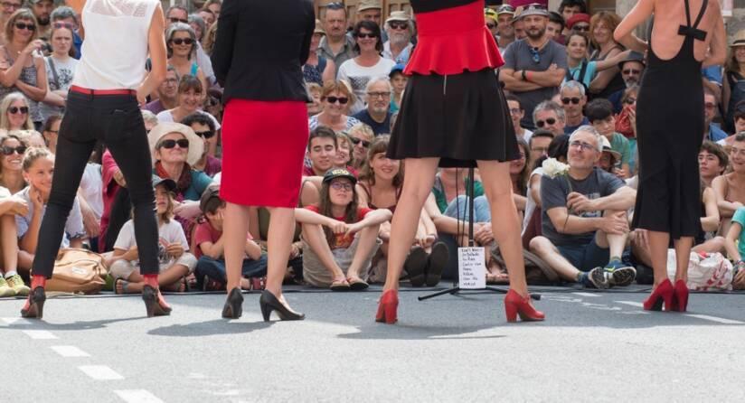 Festival international de théâtre de rue d'Aurillac, 2018 © Thierry Zoccolan / AFP