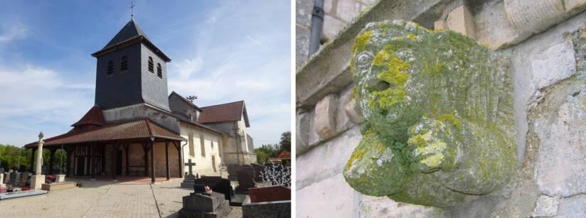 Courdemanges Église Saint-Denis et Courtisols Église Saint-Martin © DRAC Grand Est