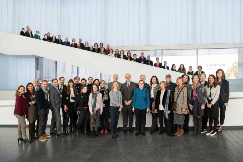 Photographie de groupe du Congrès annuel de FRAME au Nelson-Atkins Museum of Art, Kansas City, 31 octobre 2019