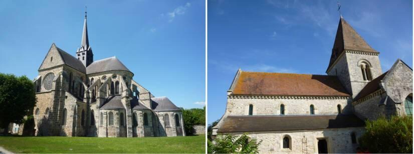 Orbais-l'Abbaye, église Saint-Pierre-et-Saint-Paul / Ormes, église Saint-Remi