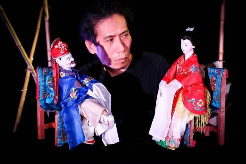Yeung Faï et son « puppet-show man » - Francophonies automne 2019
