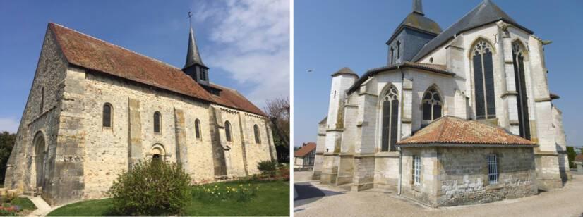 Passy-Grigny - Église Saint-Pierre-et-Saint-Paul / Pogny - Église de la Nativité de la Sainte Vierge