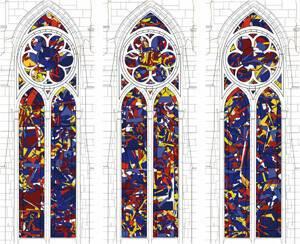 Maquettes du projet pour la cathédrale de Reims. Chapelle nord et Chapelle sud Reims