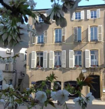 Maison Verlaine à Metz, labellisée Maison des illustres - Vue de la façade extérieure de l'immeuble