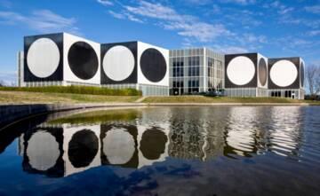 Aix-en-Provence, Fondation Vasarely, Centre architectonique, Gabrielle Voinot