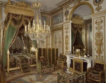 Château de Fontainebleau : grande chambre à coucher de l'Empereur Photo (C) RMN-Grand Palais (Château de Fontainebleau) / Jean-Pierre Lagiewski