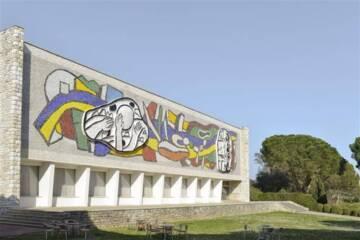 Musée Fernand Léger : façade sud Photo (C) RMN-Grand Palais (musée Fernand Léger) / Adrien Didierjean