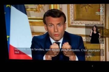 Discours Macron