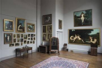 Musée national Jean-Jacques Henner : atelier gris Photo (C) RMN-Grand Palais / René-Gabriel Ojéda