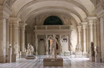 Palais du Louvre. Salle des Caryatides Photo (C) RMN-Grand Palais (musée du Louvre) / Hervé Lewandowski