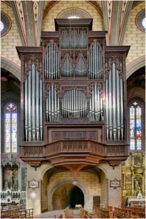 Le grand orgue  de la cathédrale de Perpignan © Jean-François Peiré Drac