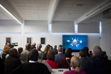 Inauguration, le 5 décembre 2019, de la Micro-folie du CNAC à Châlons-en-Champagne