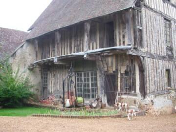 Maison de Blévy côté cour