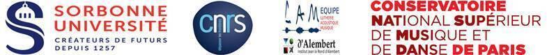 Logos Rencontre nationale recherche en musique 2020