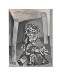 Dation Maya Ruiz-Picasso - L'enfant à la sucette assis sous une chaise