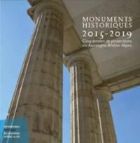 Monuments historiques 2015-2019 cinq ans de protection