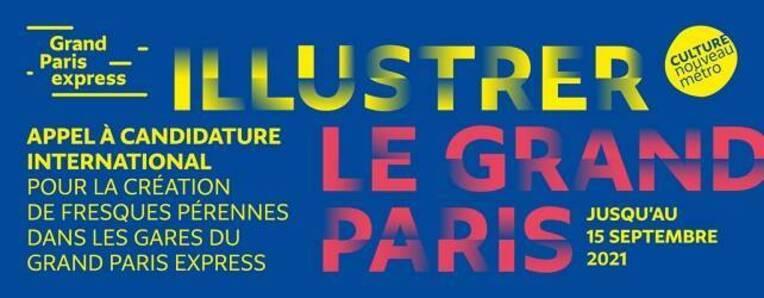 Appel à candidature pour illustrer les territoires du Grand Paris