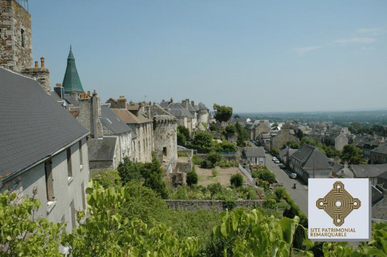 Domfront-en Poiraie, classement au titre des sites patrimoniaux remarquables