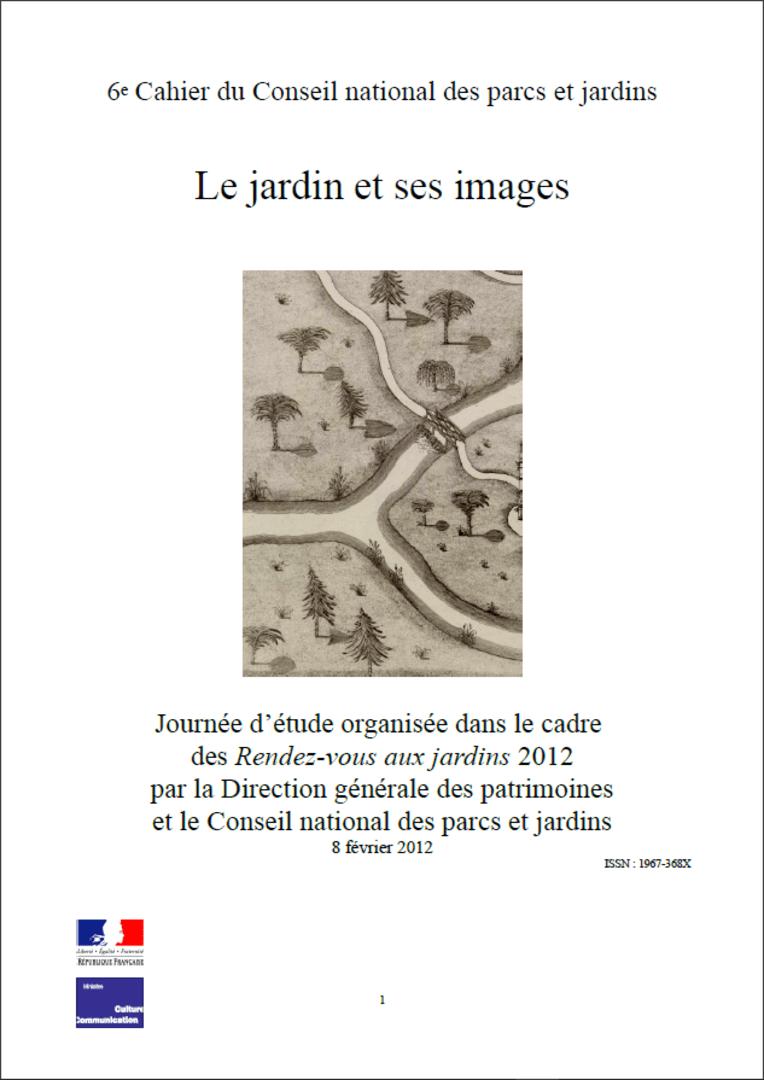 Actes RdvJardins 2012 - Le jardin et ses images